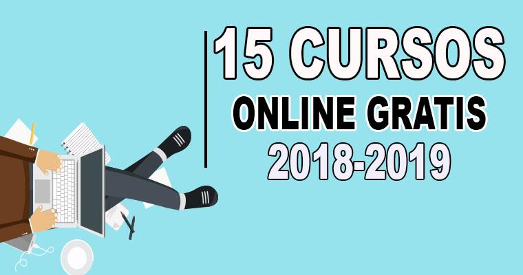 15 Cursos Online Gratis Para el Verano