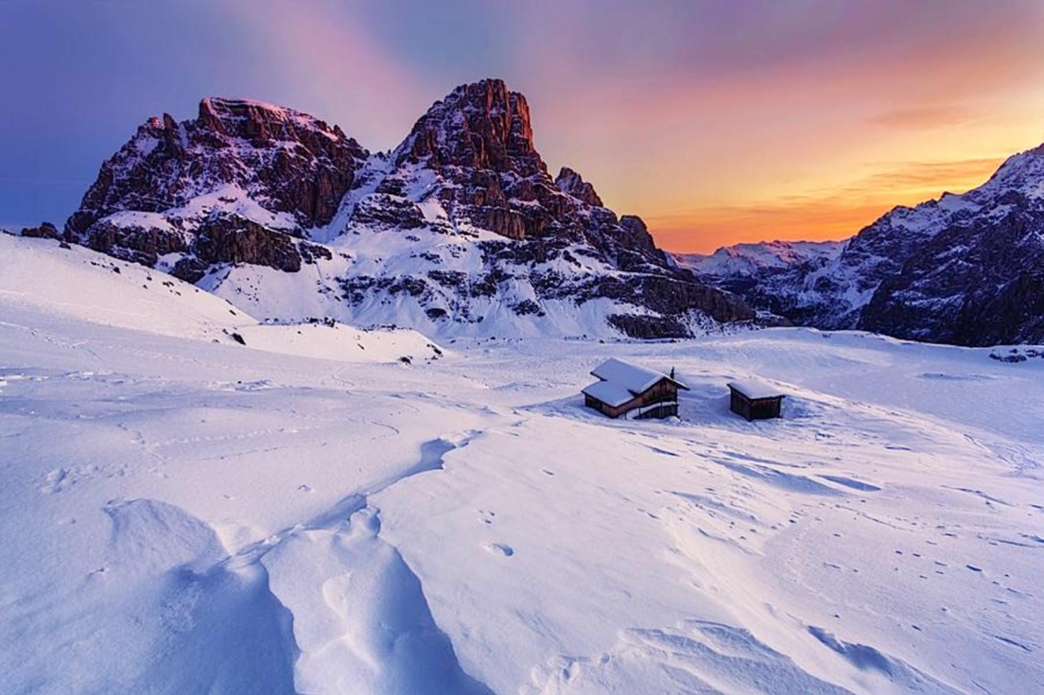 Doze Paisagens Inspiradoras Do Inverno No Nosso Planeta