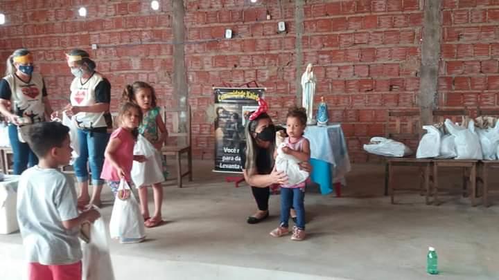 Comunidade Kairós celebra Dia das Crianças com Ação Social em Ponta Porã