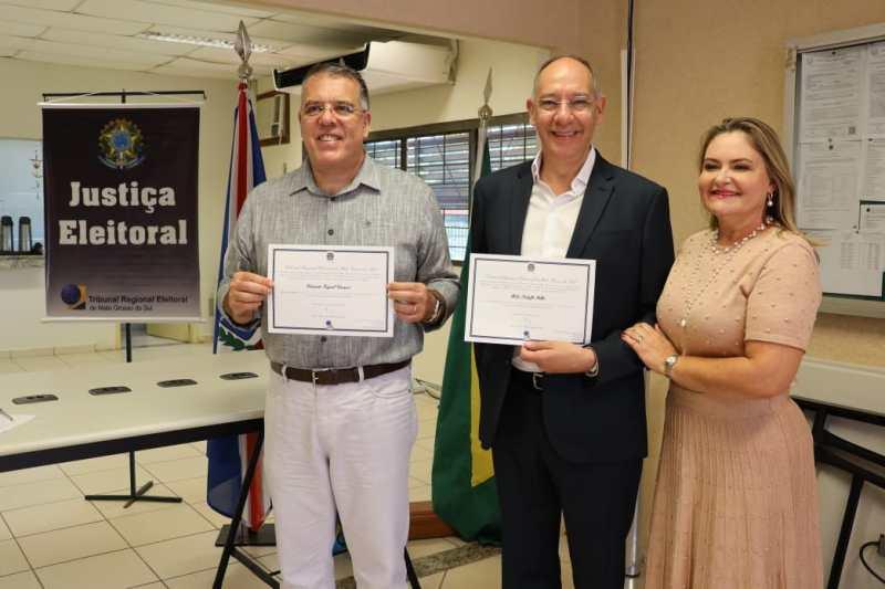 Hélio Peluffo é diplomado prefeito de Ponta Porã