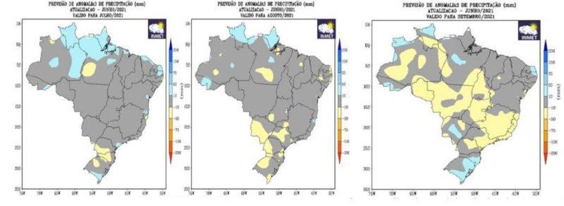 Inverno começa com pouca chuva e temperaturas acima da média em MS