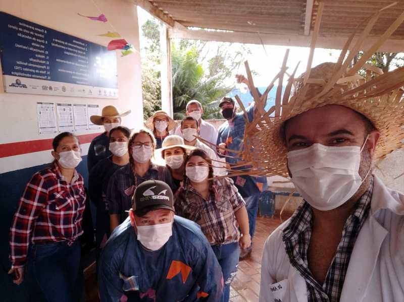 Campanha no Distrito de cabeceira do Apa diminuiu casos de dengue e covid