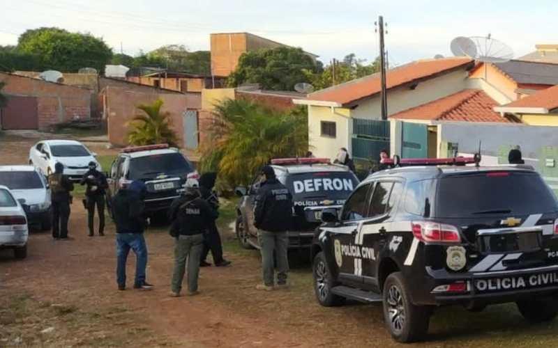 Operação policial investiga lavagem de dinheiro na Fronteira