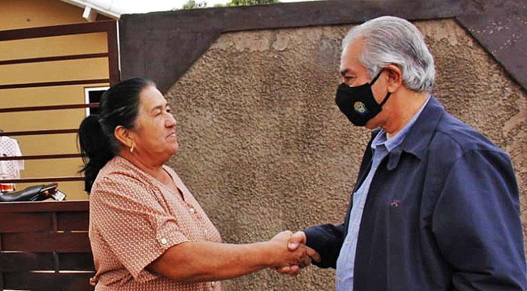 Reinaldo Azambuja autoriza obras de pavimentação e recapeamento em Bela Vista