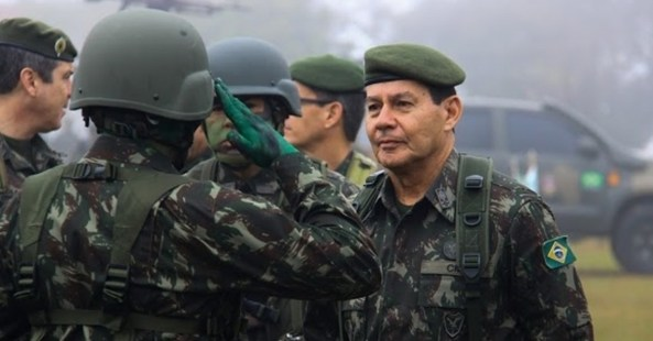 Vice-presidente General Mourão