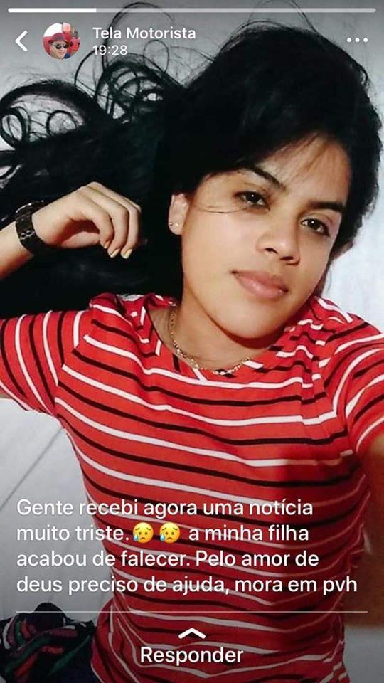 Jovem é encontrada morta após tomar veneno pra rato em Porto Velho
