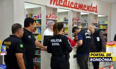 Polícia Civil faz operação e flagra farmácia vendendo máscaras pelo dobro do preço
