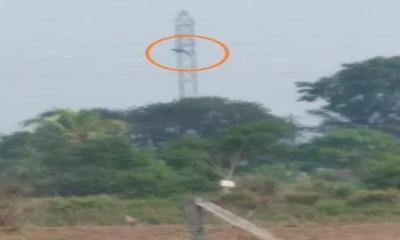 Funcionário da Energisa morre pendurado em torre de energia