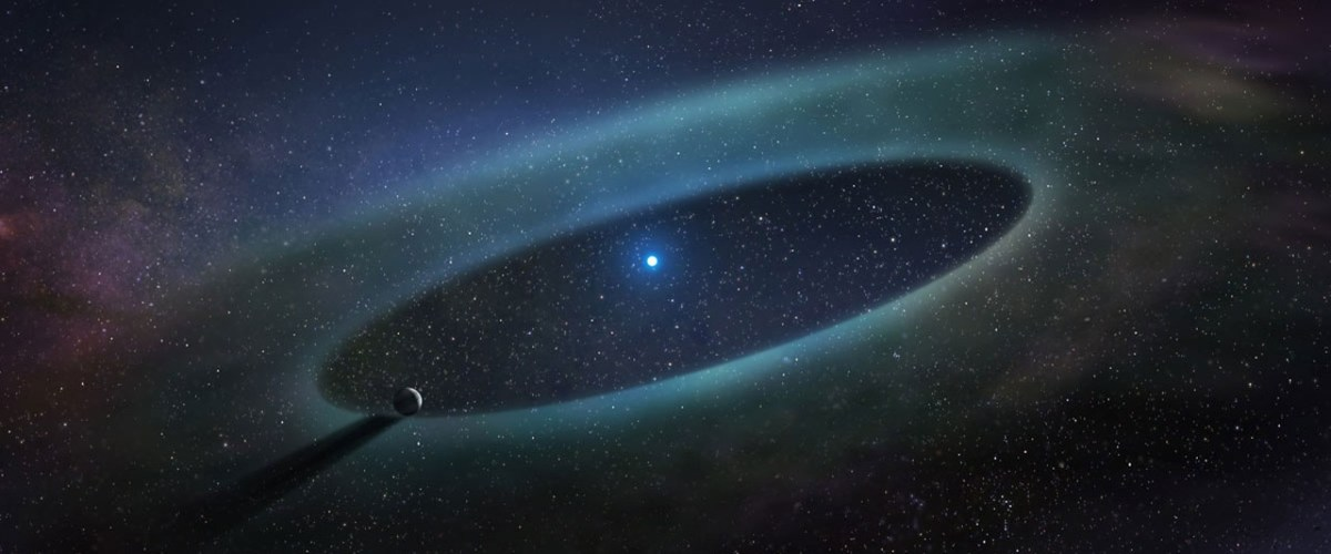 Porque é que as estrelas pesadas têm tanto gás à sua volta?