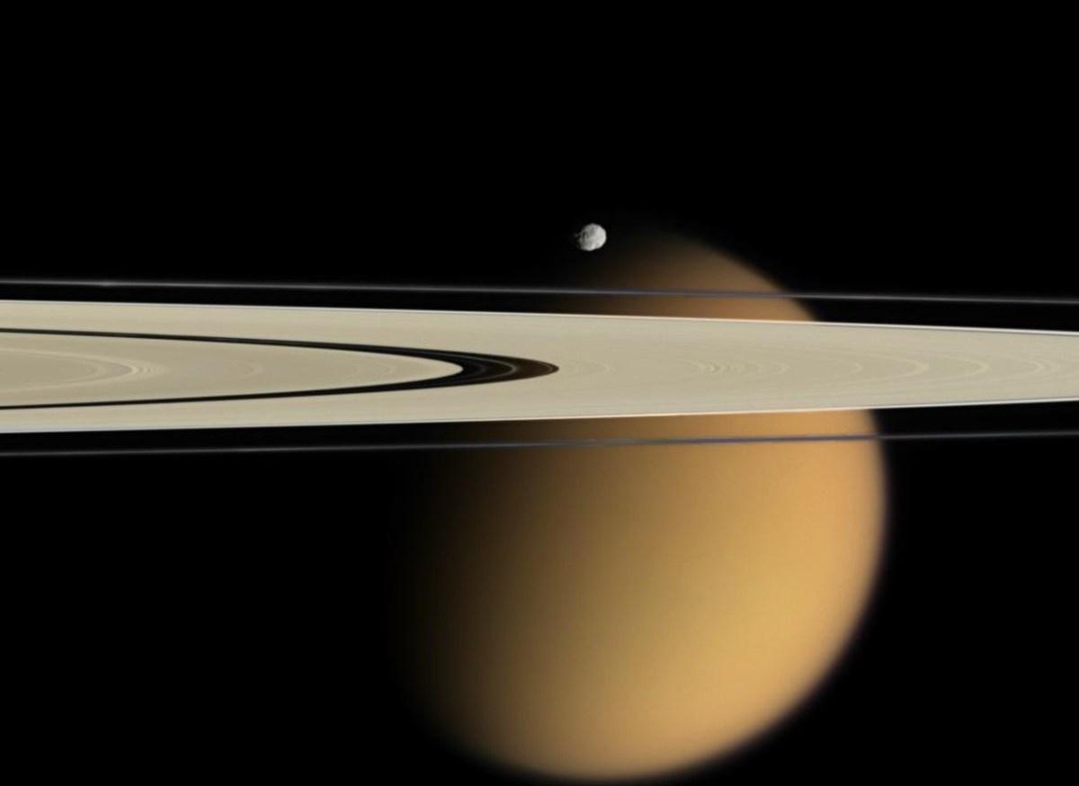 O adeus da Cassini