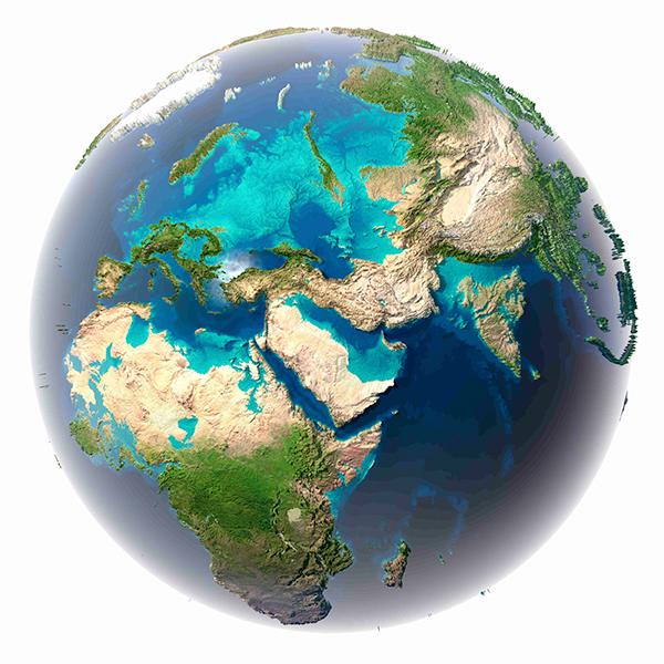 Oceanos em abundância: novo estudo sugere que a maioria dos planetas habitáveis têm pouca terra seca