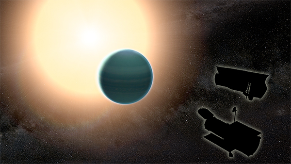 """Atmosfera primitiva descoberta à volta de um """"Neptuno quente"""""""