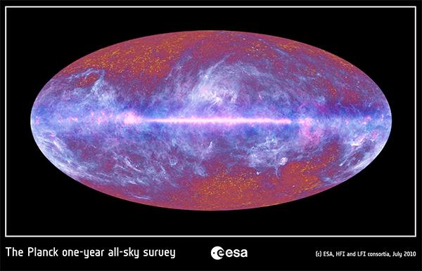 Via Láctea no infravermelho.
