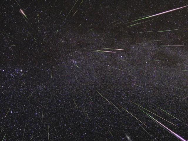 A cauda do cometa desaparecido