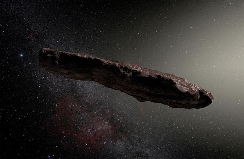Oumuamua veio provavelmente de um sistema binário
