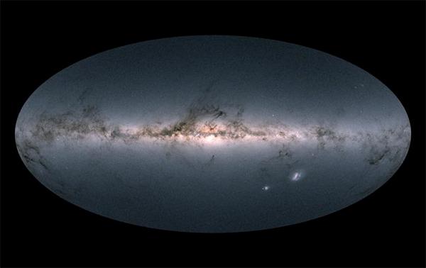 A Missão Gaia lançou o mapa estelar mais completo da nossa galáxia