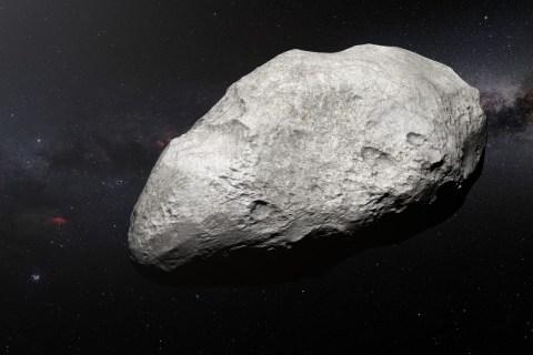 Descoberto um primo distante dos asteroides