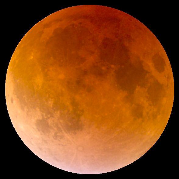 O Eclipse Lunar Total De 4 De Abril De 2015 Credito Alfredo Garcia Jr Cc By Sa 4 0