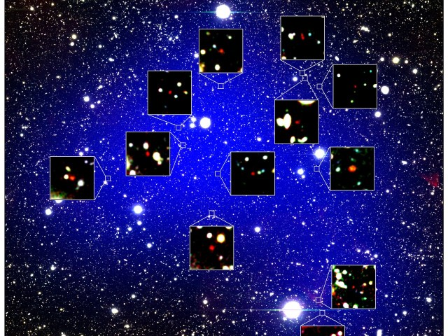 Um antigo manancial de galáxias