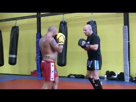 Dave Breed & Ramon Dekkers Golden Glory Training footage