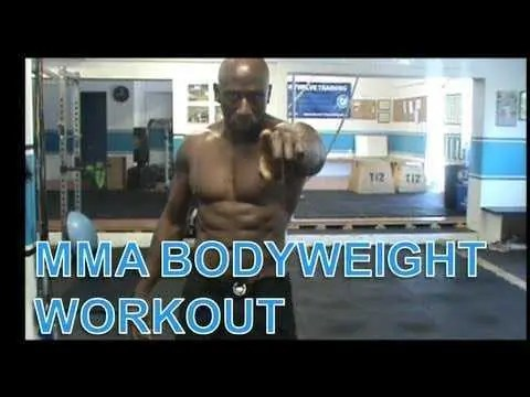 MMA BODYWEIGHT WORKOUT #4