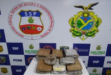 MULHER É PRESA E ADOLESCENTE INDÍGENA APREENDIDA COM 20 QUILOS DE DROGA