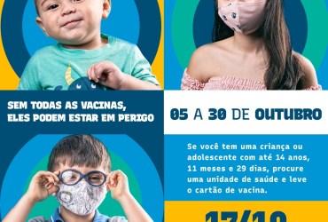 Manaus terá Dia D de Multivacinação