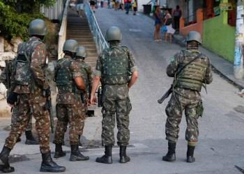 GOVERNO FEDERAL AUTORIZA USO DAS FORÇAS ARMADAS NAS ELEIÇÕES