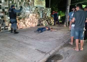 Homem é morto a tiros em avenida de Manaus