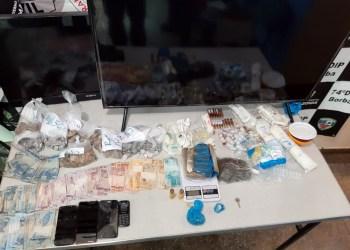 PC prende casal pelos crimes de tráfico de drogas e associação para o tráfico de drogas em Borba
