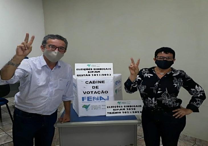 Chapa #TodosSomosUm é eleita para direção do Sindicato dos Jornalistas no AM