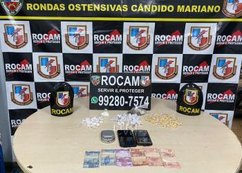 Rocam detém trio por tráfico de drogas na zona Leste de Manaus