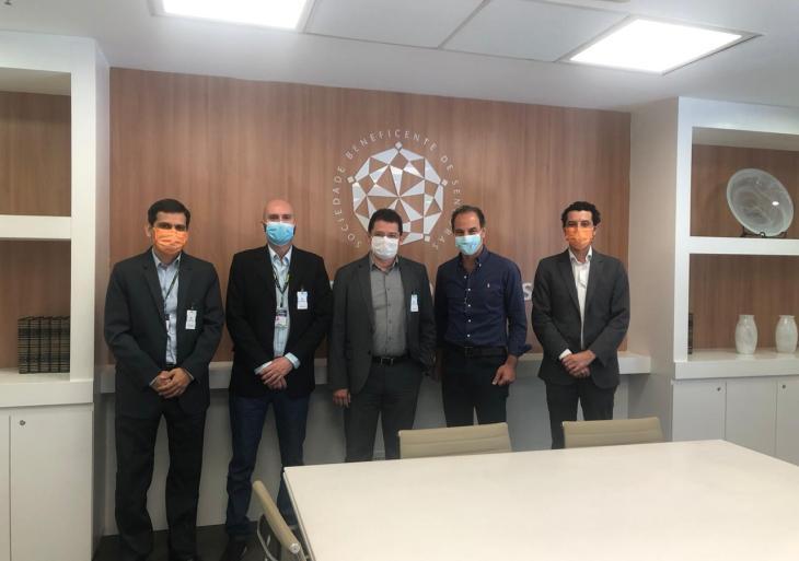 Secretaria de Saúde do Amazonas articula ampliação de parceria com Hospital Sírio-Libanês