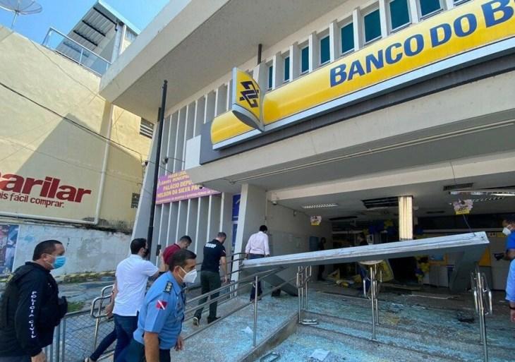 Pará: Ladrões erraram cofre e não levaram dinheiro de banco
