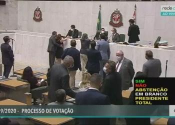 Vídeo mostra assédio sexual contra deputada durante sessão na Alesp