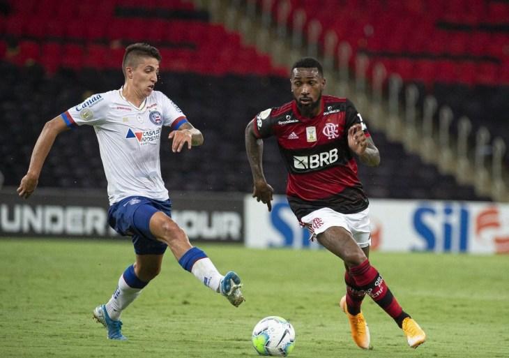 Bahia afasta jogador acusado de racismo por Gerson, do Flamengo
