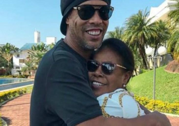 Mãe de Ronaldinho Gaúcho está na UTI com Covid-19: 'Na luta para que ela se recupere'