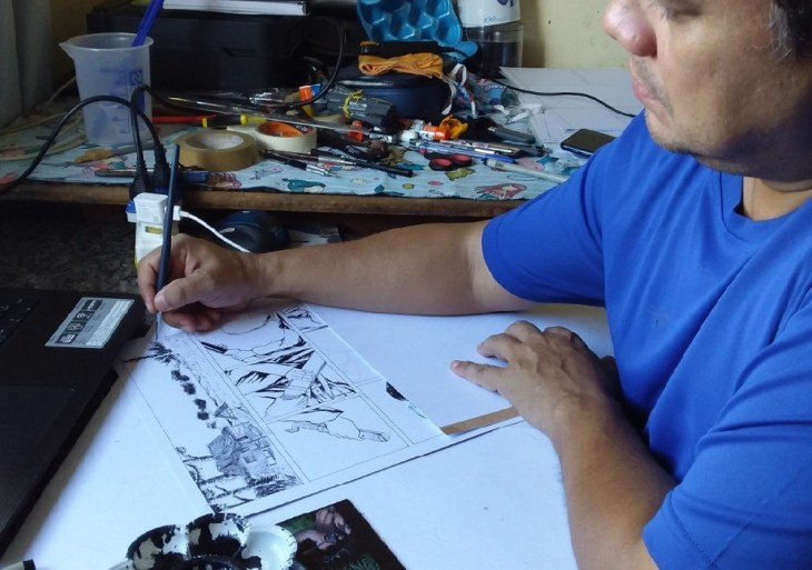 Quadrinistas Amazonenses lançam obra retratando o Período Áureo da Borracha