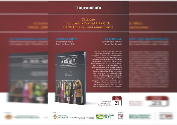 CompanhiaTeatral A Rã Qi Ri lança 'Catálogo Rã 28 Anos'