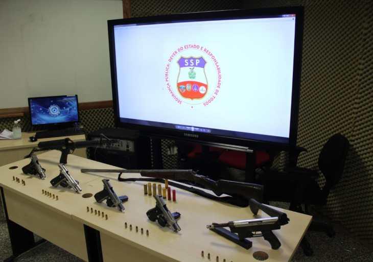 Foragido da justiça é recapturado com sete armas de fogo no Santa Etelvina