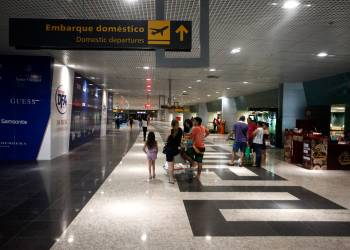 Aeroporto Internacional Eduardo Gomes FOTO: DIEGO JANATÃ