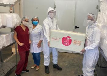 Empresário Gustavo Picanço doará três toneladas de sorvete aos profissionais do Delphina Aziz.