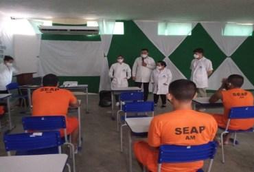 Seap inicia campanha 'Janeiro Branco' no Complexo Penitenciário Anísio Jobim
