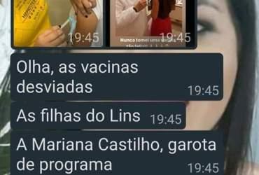Miss Amazonas e Filha de dono da Nilton Lins tem prioridade na vacina