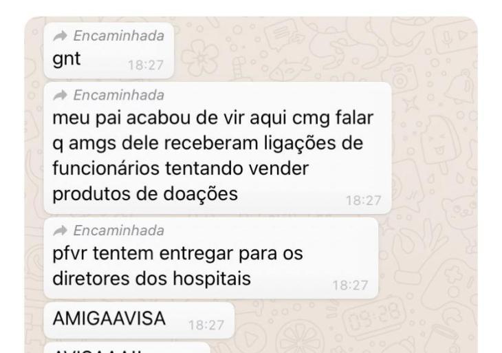 Doações de artistas estão sendo desviadas e vendidas no João Lúcio