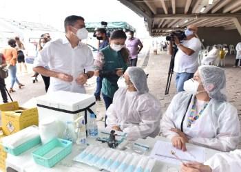 Manaus ultrapassa a marca de 50 mil vacinados contra a Covid-19