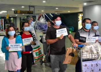 Recuperados da Covid-19: mais oito pacientes retornam a Manaus na noite deste domingo (07/02)