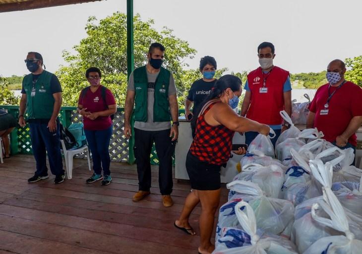 Sema entrega mais de 1,8 mil kits de higiene para moradores de Unidades de Conservação