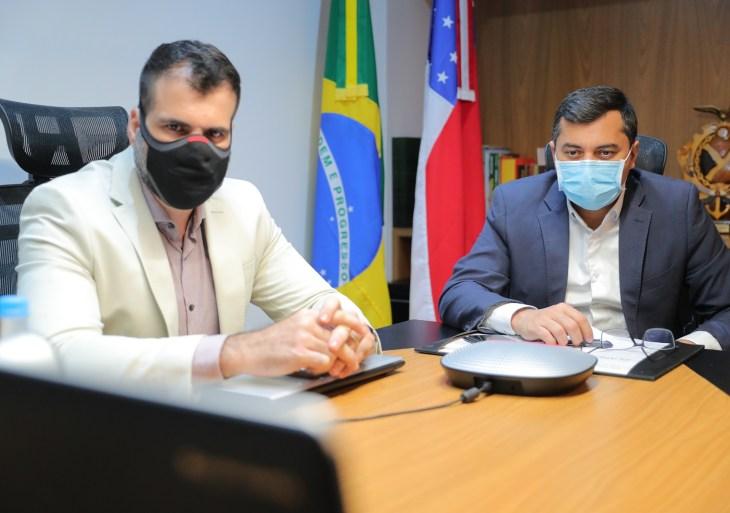 Governador participa de reunião com Vice-presidente  para alinhar ações de combate às queimadas e ao desmatamento