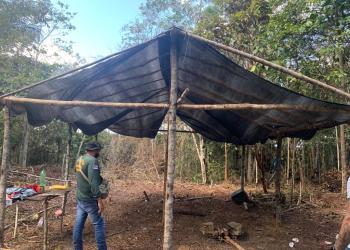 Ocupação irregular ligada ao tráfico de drogas é desarticulada no Tarumã
